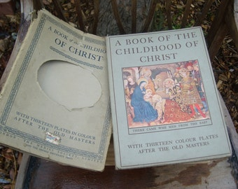 A book of the childhood of Christ with colour plates