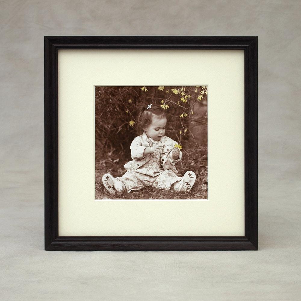 8x8 85x85 9x9 picture frame peruvian walnut dark exotic zoom jeuxipadfo Gallery