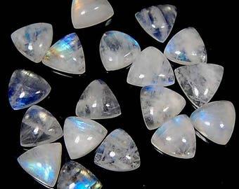 52.80 Cts aaa 100% natural fantastic blue fire rainbow MOONSTONE celebrated Fancy shape lot 18 pc LOOSE GEMSTONE