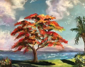Royal Ponciana Fine Art Giclee
