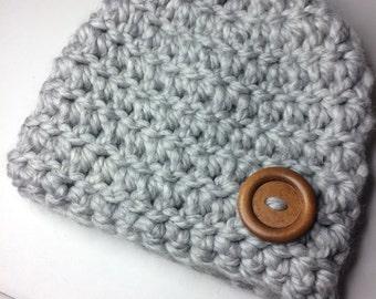 Baby beanies, Chunky baby hat, Chunky crochet, Crochet baby hat, Baby crochet hat, Crochet beanie, Beanie hat, Newborn baby, Baby boy hat