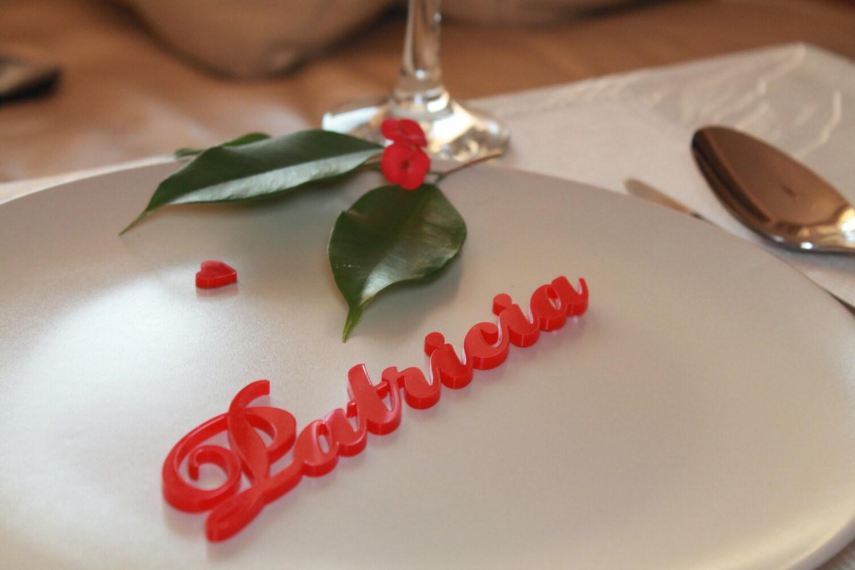 Laser Cut Names Wedding Table Ideas Guest Names Elegant Place ...