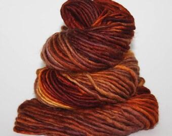 Hand-Painted Super Bulky 80/20% Superwash Merino Wool/Nylon Yarn - Garden of the Gods