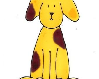 Doggie- Family Window Art