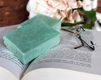 Relaxation Soap~Handmade hot process soap, palm free soap, lard free soap