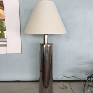 Mid Century Laurel Lamp MFG Company/Cylinder Chrome Lamp/ Model K  7947/