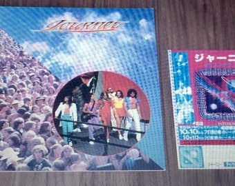 Journey Japanese Tour Program 1980