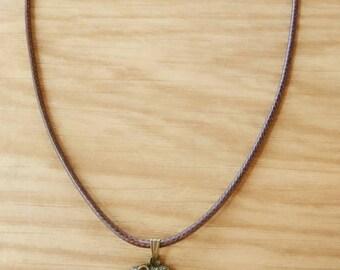 Necklace chain elephant pendant