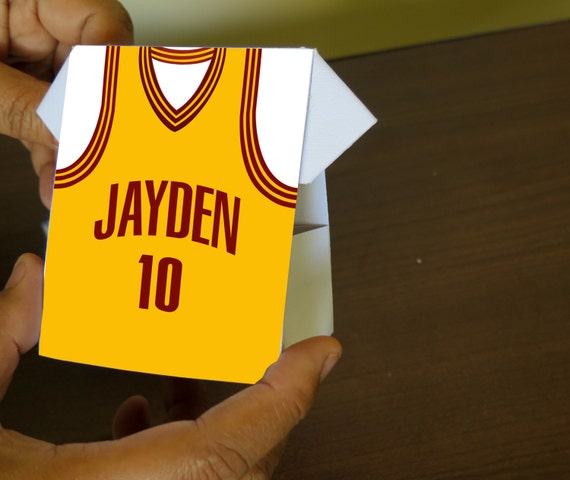 Personalized Jersey Shirt Design Only For Basketball Origami
