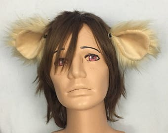 Clip On Lion Ears