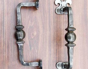 Wrought Iron Handmade Door Handle