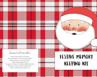 Christmas Memory Keeping Kit 1