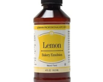 LorAnn Bakery Emulsion - Lemon 4 fl. oz.