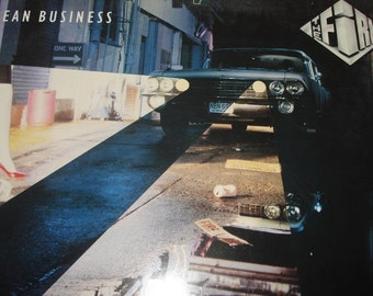 The Firm record album, The Firm Mean Business vintage vinyl record