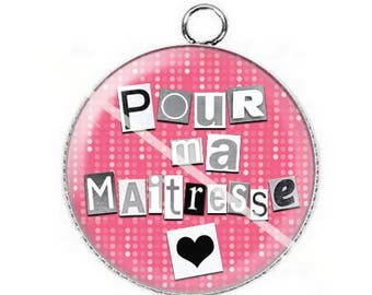 For mistress a8 cabochon pendant