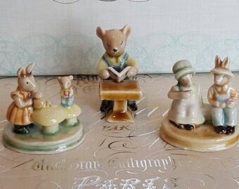 Vintage ceramic ornaments