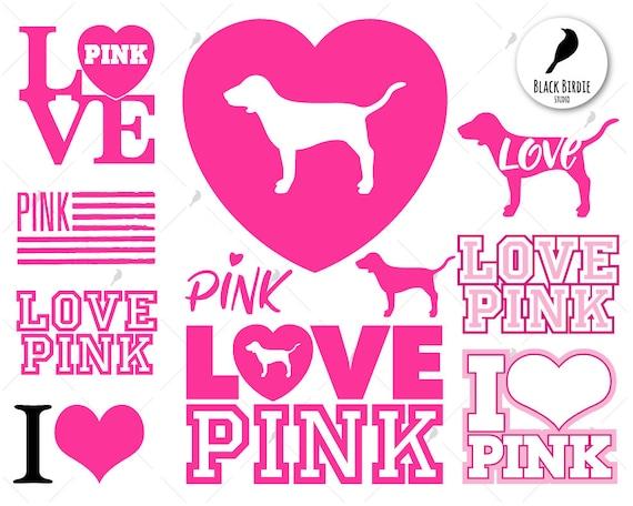 Download Love pink svg pink love svg love pink clipart pink love