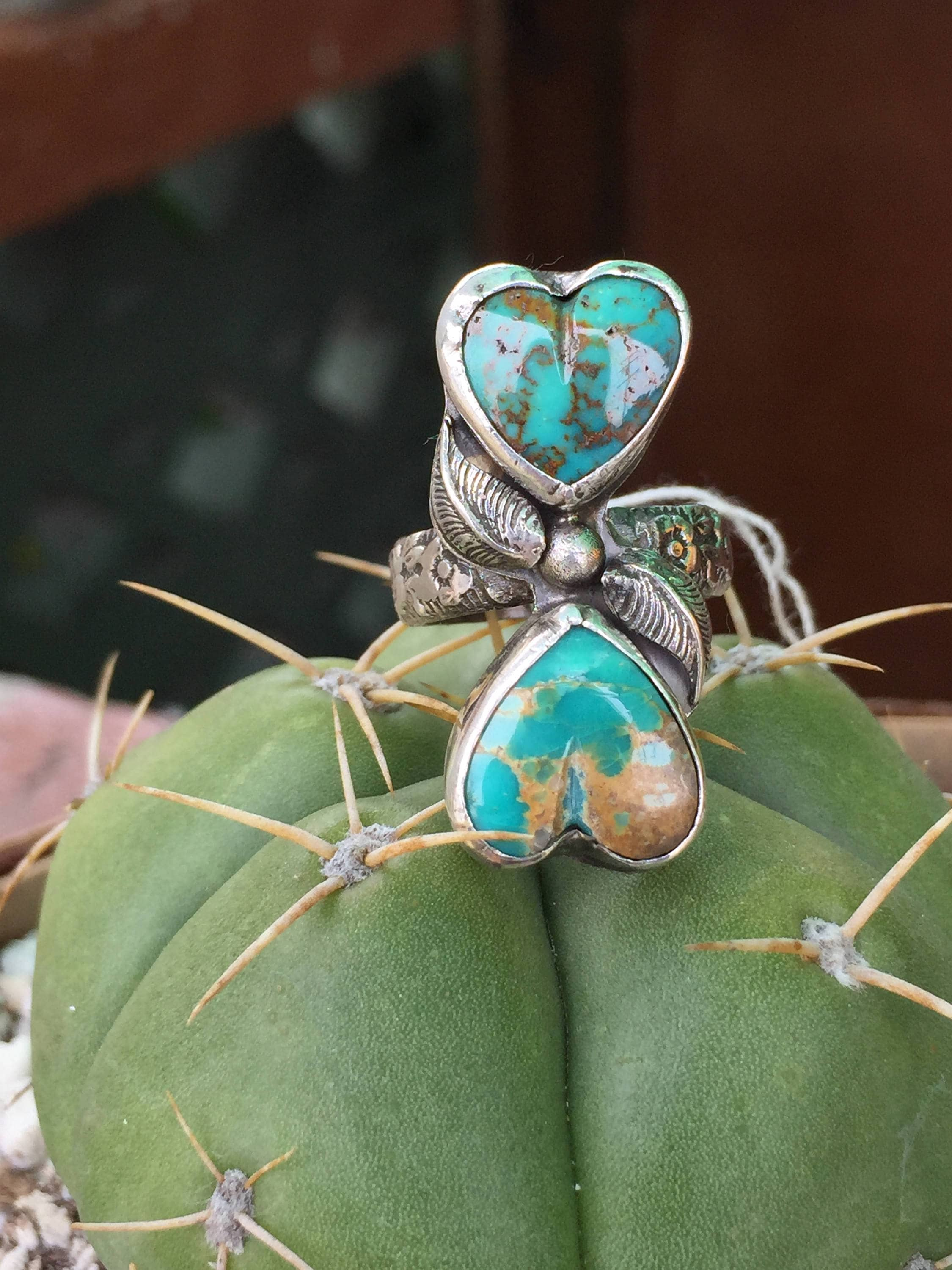 b lee front jewelry american southwest turquoise navajo ring native by size jewellery kingman