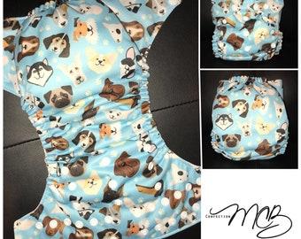 Dogs OS Pocket diaper