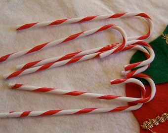 six little candy canes
