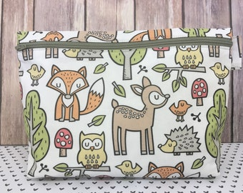 Forest Friends Planner Pouch