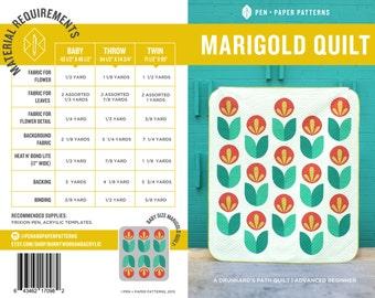 PDF Marigold Quilt Pattern