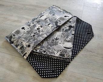 "Nappy Wallet & Waterproof Change Mat. ""Jungle Friends"" Fabric. Beautiful Gift!"