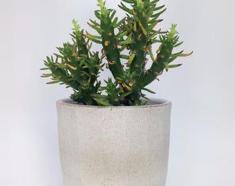 Geometric Planter, Succulent Planter, Faceted Planter, Pottery Planter, Cactus Pot, Ceramic Planter, Rustic Planter, Minimalist Planter