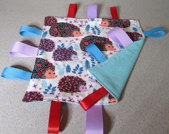 New! Handmade Tag Blanket <Adorable Hedge Hog> Free Shipping!