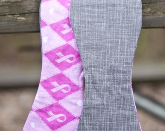 Think Pink Breast Cancer Bow Tie