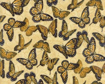 Bee Inspired Honeycomb Butterflies 19795 11 Moda Fabrics By Deb Strain 100% Cotton Quilting Fabric