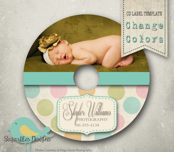 CdDvd Label Photoshop Template Dvd Label