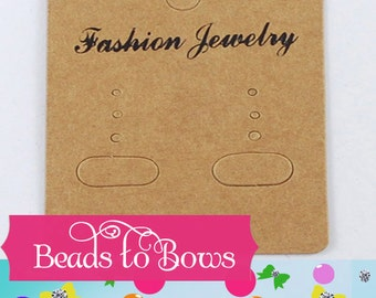 Jewelry Display Cards, Earring Displaying Cards, Craft Show Supplies, Jewelry Packaging, Findings, Jewelry Supplies, Fashion Jewelry Cards