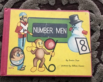 1948 number men by louise true hardcover childrensbook