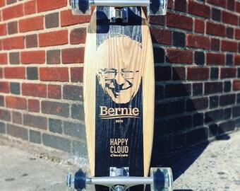 """Bernie Sanders 26"""" Longboard Cruiser"""