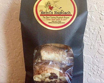 1 pound bag of delicious fresh baked gourmet Rugelach