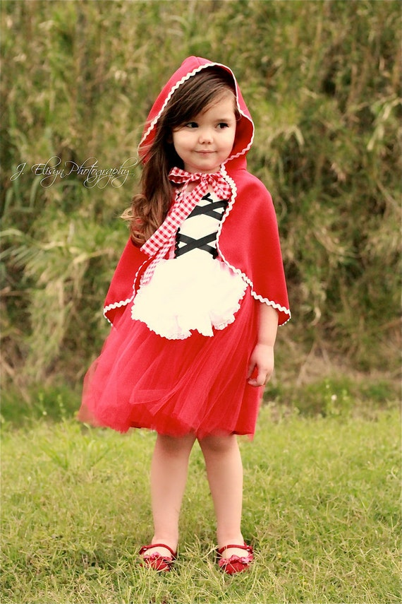 Little Red Riding hood costume girls toddlers