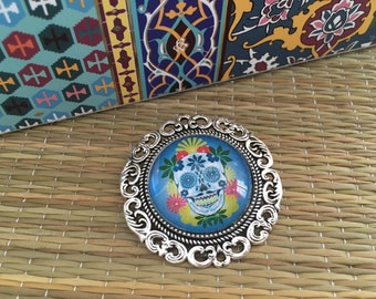 Mexican lucky brooch
