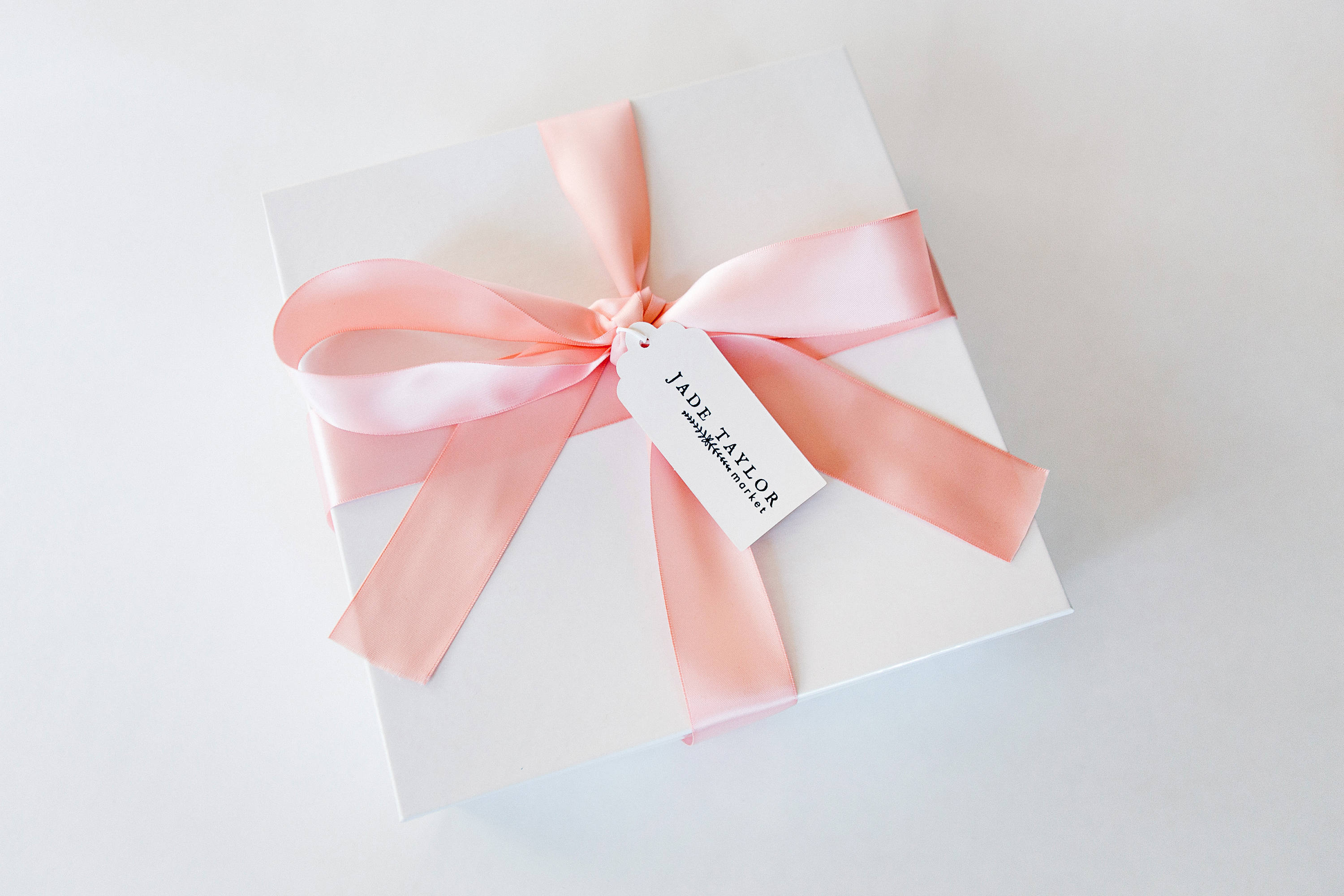 Wedding Gift Box. Custom Packaging. Personalized Gift. Satin Ribbon ...