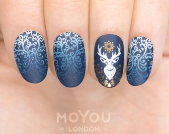 MoYou London - Stamping Nail Art Plate Animal 12