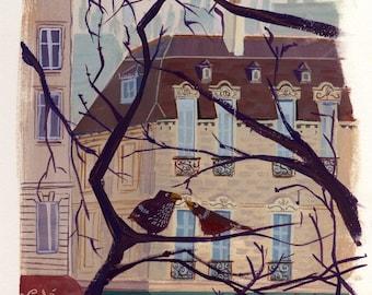 Paris Birds - Print