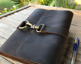 Leather Journal // Brown Leather Journal // Refillable Journal // Personalized Leather Journal // Journals