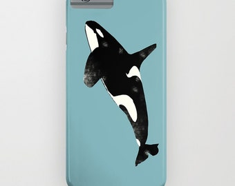 Killer whale on Phone Case - Killer Whale, Samsung Galaxy S7, iPhone 6S, iPhone 6 Plus, iPhone 6S, Gift Ideas, iPhone 8