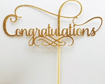 Yay Cake Topper Bride To Be Cake Topper Graduation Class Of
