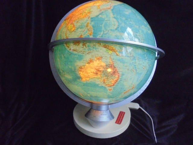 Wereldbol Met Licht : Grote columbus planet globe met licht dag en nacht modus