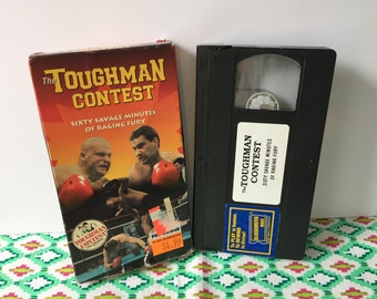 the toughman contest VHS tape movie 1995 butterbean boxing brawls!