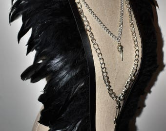 Black Feather Harness
