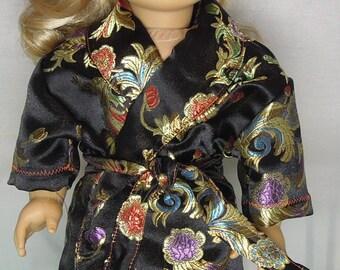 """18"""" Doll Brocade Bathrobe"""