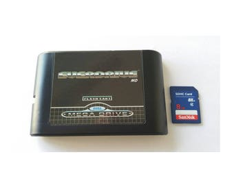 EverDrive for the Sega Genesis - MegaDrive + 8 GB SD Card with 900 games Mega Drive Game Cart 32X