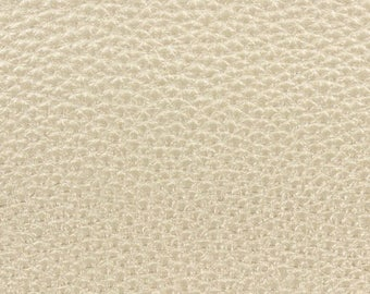 Fabric faux leather gold width 25 cm x 69 cm